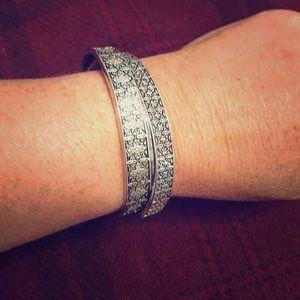 Two in one cuff bracelet
